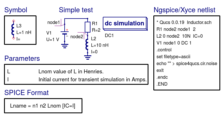 Chapter 7  Qucs and SPICE simulation models that work with